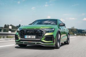 Abt Sportsline RSQ8-R limitiertes Sondermodell Tuning Leistungssteigerung Carbon Bodykit Felgen Interieur-Veredlung Audi RS Q8