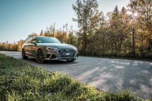 Abt Sportsline Audi S4 Avant Tuning Leistungssteigerung Fahrwerk Felgen