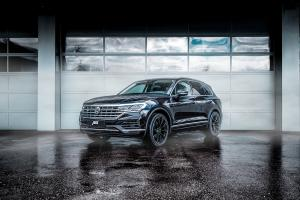Abt VW Touareg III V6 TDI Tuning Felgen GR Glossy Black Leistungssteigerung