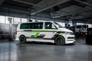 Abt e-Line e-Transporter T6 Elektroauto Tuning Aerodynamik Felgen Abt Sport GR