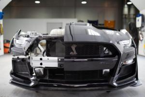 2020er Ford Mustang Shelby GT500 Entwicklung