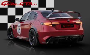 Alfa Romeo Giulia GTAm Sportlimousine limitiertes Topmodell Racing Livery Design-Lackierung Centro Stile Preis