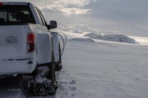 Arctic Trucks Ford F-150 AT44 Offroader Expeditionsfahrzeug Island Erprobung Testphase