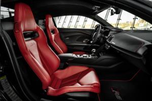 Audi R8 RWD Panther Edition Coupé limitiertes Sondermodell USA V10 Mittelmotor Sportwagen