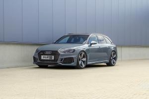 Audi RS 4 H&R Fahrwerk Tieferlegung