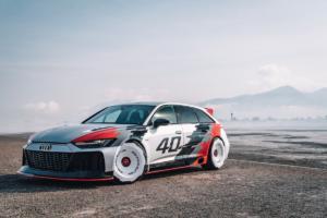 Audi RS 6 GTO concept Studie Auszubildenden-Projekt Neckarsulm Unikat Einzelstück 40 Jahre quattro
