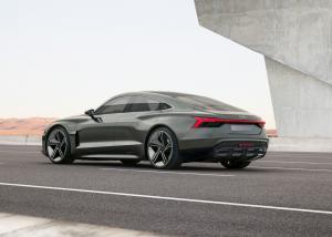 Audi e-tron GT concept Neuheit Studie Premiere LA Auto Show 2018 Messe
