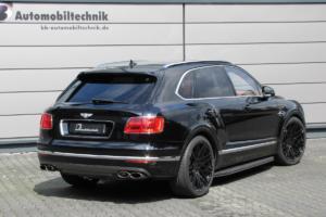 B&B Automobiltechnik Bentley Bentayga Tuning Leistungssteigerung Fahrwerk Tieferlegung Felgen Räder Luxus SUV