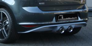 BB Golf VII GTI Abgasanlage mittig