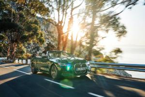 BMW 4er Cabriolet G23 Neuheit Vorstellung Premium Mittelklasse M440i Stoffdach