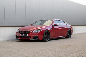 BMW 6er Gran Coupé F06 Luxusklasse Viertürer H&R Fahrwerk Tieferlegung Z-Performance Leichtmetallräder