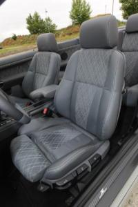 BMW E36 323i Cabriolet Bulgarien Tuning Felgen Tieferlegung Karosserie-Anbauteile Innenraum