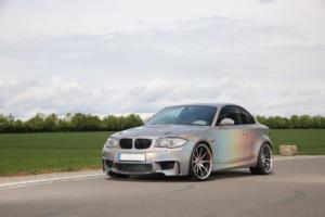 BMW E82 135i Tuning Felgen Leistungssteigerung Effektlackierung 1er M Coupé-Optik