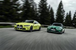 BMW M3 Limousine G80 M4 Coupé G82 Neuheit Premiere Vorstellung Mittelklasse Topmodell M GmbH