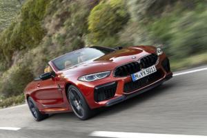 BMW M8 Cabriolet Neuheit Topmodell Sportwagen Luxusklasse
