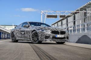 BMW M8 Prototyp Erlkönig Neuheit Sportcoupé Topmodell
