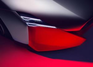 BMW Vision M NEXT Studie Sportwagen Coupé Ausblick Zukunft Plug-in-Hybrid