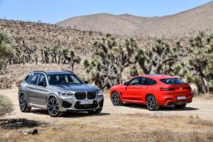 BMW X3 M Competition X4 M Competition SUV Topmodell Neuheit Vorstellung