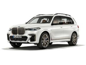 BMW X7 M50i SUV Topmodell Neuheit Biturbo V8