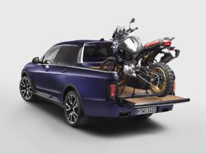 BMW X7 Pick up Studie Einzelstück Concept Car Auszubildende Werk München BMW Motorrad Days