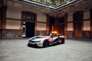 BMW i8 Roadster Safety Car Formel E Mexico City