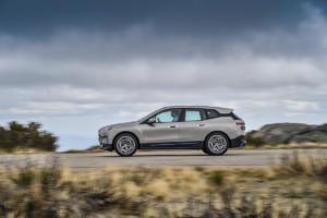 BMW iX Elektroauto Crossover SUV Neuheit Vorstellung