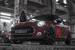 Barracuda Racing Wheels MINI Cooper Cabriolet Tuning Felgen Tzunamee EVO Tieferlegung