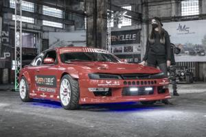 Barracuda Racing Wheels Summa Neuheit Felge Rad Leichtbau Flow Forming Nissan Silvia S14 Drift Car