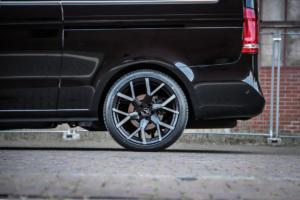 Barracuda Racing Wheels Tzunamee EVO Tuning Mercedes-Benz V 250 d Felgen Räder-Tieferlegung V-Klasse