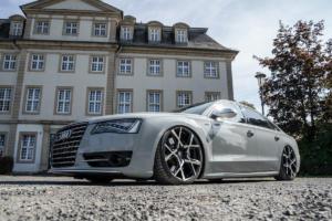 Barracuda Racing Wheels Ultralight Series Project X Audi S8 4H Tuning Felgen Räder Tieferlegung Folierung