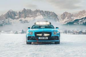 Bentley Continental Ice GT Einzelstück GP Ice Race 2020 Zell am See Catie Munnings