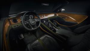 Bentley Mulliner Bacalar Clerkenwell Sportwagen Spyder limitiertes Sondermodell Interieur