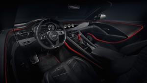 Bentley Mulliner Bacalar Fulton Sportwagen Spyder limitiertes Sondermodell Interieur