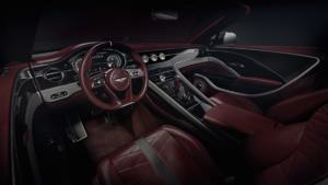 Bentley Mulliner Bacalar Greenwich Sportwagen Spyder limitiertes Sondermodell Interieur