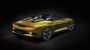 Bentley Mulliner Bacalar Randwick Sportwagen Spyder limitiertes Sondermodell