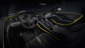 Bentley Mulliner Bacalar Randwick Sportwagen Spyder limitiertes Sondermodell Interieur