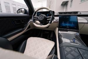 Brabus B50 Mercedes S-Klasse W223 Luxuslimousine Tuning Leistungssteigerung Karosserie Aerodynamik Anbauteile Schmiedefelgen Innenraum Veredlung