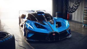Bugatti Bolide Concept Hypercar Studie Neuheit Präsentation