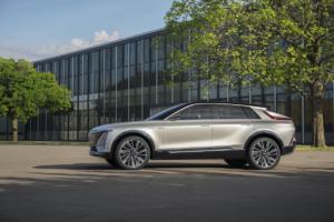 Cadillac Lyriq Neuheit Studie Concept Car Elektroauto Crossover SUV 2023