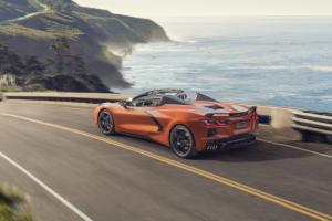 Chevrolet Corvette C8 Stingray Convertible Hardtop-Cabriolet Neuheit Mittelmotor-Sportwagen US-Car