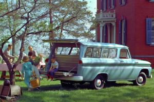 Chevrolet Suburban Jubiläum 85 Jahre US-Car SUV 1965
