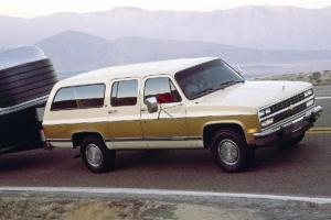 Chevrolet Suburban Jubiläum 85 Jahre US-Car SUV 1991