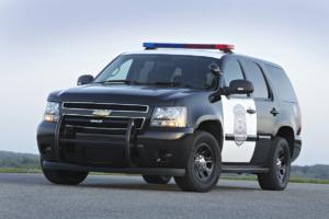 Chevrolet Tahoe US-Car SUV Jubiläum 25 Jahre 2014 Polizeiwagen