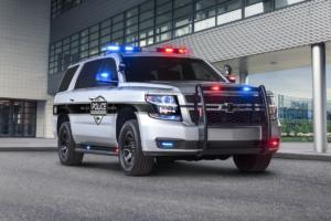 Chevrolet Tahoe US-Car SUV Jubiläum 25 Jahre 2018 Polizeiwagen