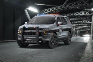 Chevrolet Tahoe US-Car SUV Jubiläum 25 Jahre 2021 Polizeiwagen