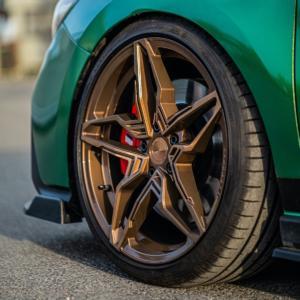 Cor.Speed Sports Wheels Hyundai i30 N Tuning Kharma Felgen Folierung Tieferlegung Airride Luftfahrwerk