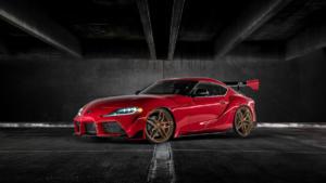 Cor.Speed Sports Wheels Kharma Felge Neuheit Premiere Essen Motor Show 2019 Toyota Supra