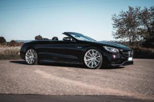 Cor.Speed Sports Wheels Europe: Starkes Luxus-Cabrio mit feinem Schuhwerk – Deville am Mercedes-AMG S 63