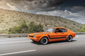 V8-Power im Ford Capri