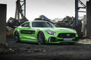 Mercedes-AMG GT S Grün von M&D Exclusive Cardesign